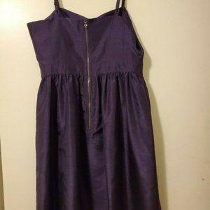 Kensie Purple Cocktail Mini Dress  Women's Size 8